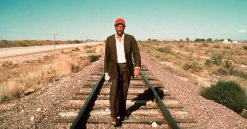 And I would walk 500 miles...just to be in Paris, Texas again.