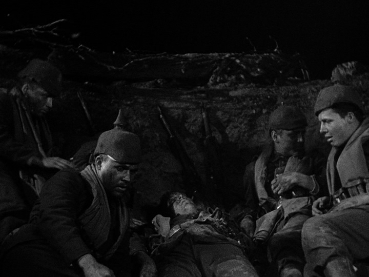 an analysis of the movie all quiet on the western front All quiet on the western front was adapted into a film in 1930 by the american director lewis milestone the film, which won the academy award for best director, sparked unrest in germany, where nazi gangs released stink bombs and mice in movie theatres.