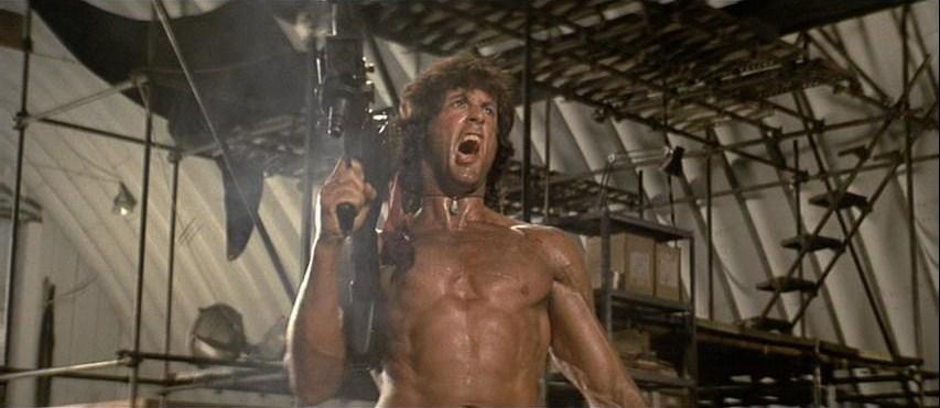 Rambo Marathon Review Rambo First Blood Part Ii 1985 Bill S Movie Emporium